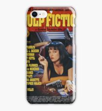 Pulp Fiction Uma Thurman Poster iPhone Case/Skin