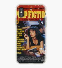 Vinilo o funda para iPhone Pulp Fiction Uma Thurman Póster