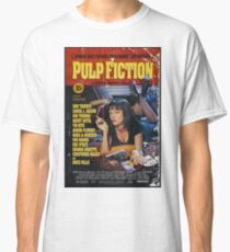 Pulp Fiction Uma Thurman Poster Classic T-Shirt