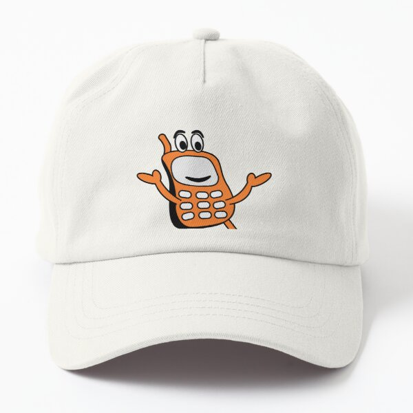 French Teenager  Simple old phone Design Dad Hat