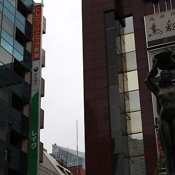 Shimbashi Staion Area, Tokyo by HalfNote5