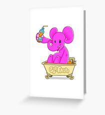 ele-fanta Greeting Card