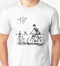 Picasso Bicycle - Biking Sketch T-Shirt