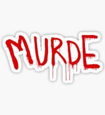 American Horror Story Season 6 My Roanoke Nightmare Murde Graffiti Sticker