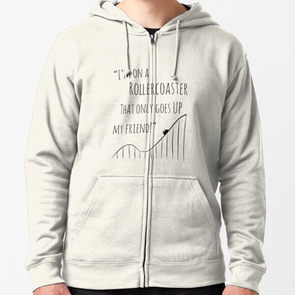 The Fault in Our Stars Rollercoaster Zipped Hoodie