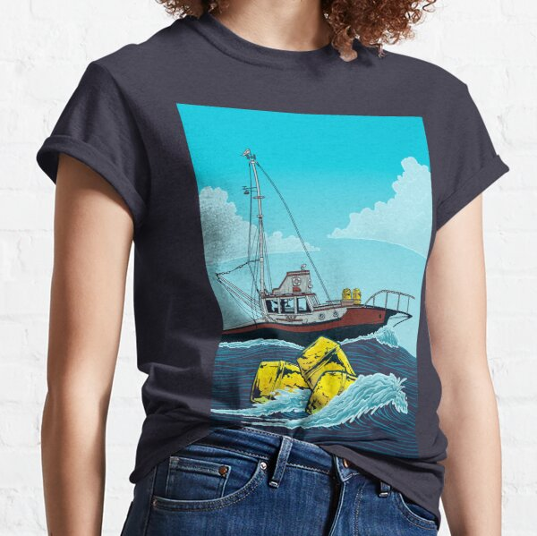 Jaws: The Orca Illustration Classic T-Shirt