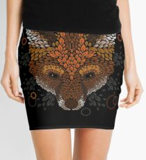 Fox Face Mini Skirt