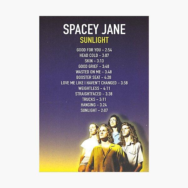 Spacey Jane Sunlight Album  Photographic Print
