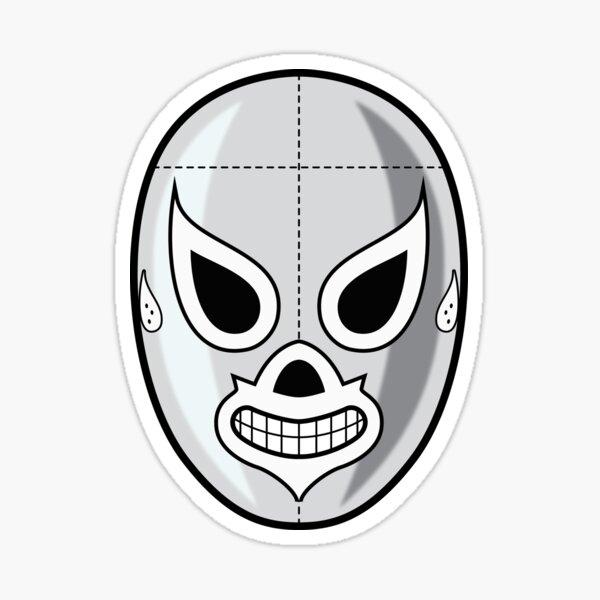 La Mascara de El Santo 1 Pegatina