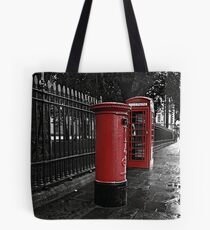 London Phone Box and Royal Mail Postal Box Tote Bag