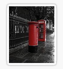 London Phone Box and Royal Mail Postal Box Sticker