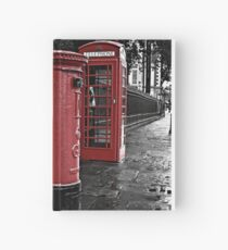 London Phone Box and Royal Mail Postal Box Hardcover Journal