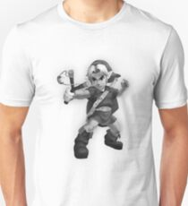 Young Link 3DS Sketch Design Unisex T-Shirt
