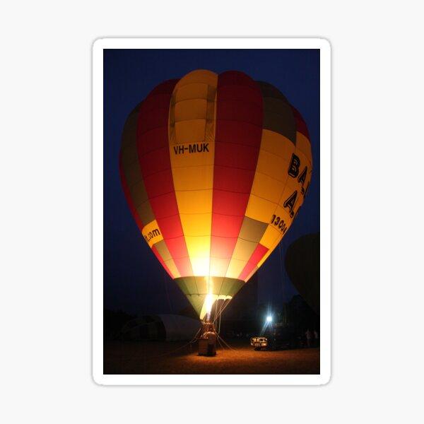 Hot Air Balloon Festival Sticker