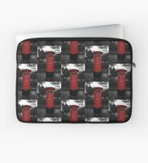 Red London Pillar Box Laptop Sleeve