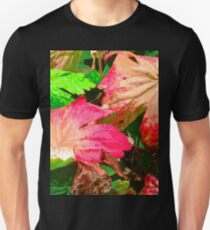 Leaves in an Irish Hedgerow, Donegal, Ireland Unisex T-Shirt