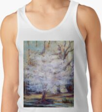 FUMC Cherry Trees, oil on canvas Tank Top