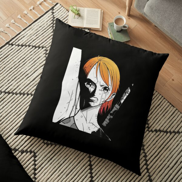 One Pece Nami Tattoo| Perfect Gift For you and friends Floor Pillow