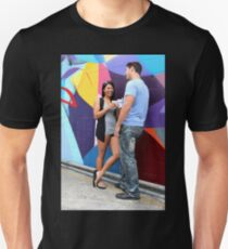Couple Talking Unisex T-Shirt