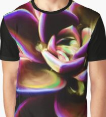 RAINBOW SUCCULENT Graphic T-Shirt