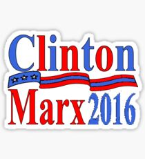 CLINTON MARX 2016 Sticker