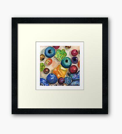 Beads II Framed Print
