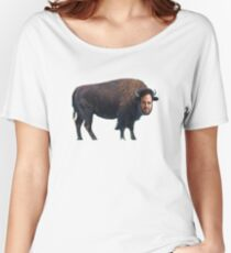 Mark Ruffalo? Mark Buffalo. Women's Relaxed Fit T-Shirt