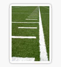 Football Lines Sticker