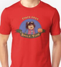Flora says it's SMILE TIME T-Shirt