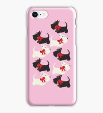 Scottie Dog iPhone/iPod case – pink iPhone Case/Skin