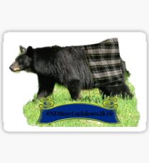 NDA Bear Lockdown 2k16 Sticker