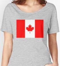 Flag of Canada - authentic version Women's Relaxed Fit T-Shirt
