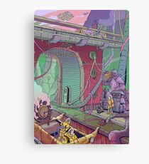 City Depths Canvas Print