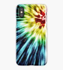 Abstract Dark Tie Dye iPhone Case