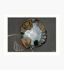 Carrick Crossroads, Donegal - Sky In Art Print
