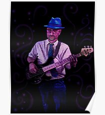 Blue Hat Bluesman Poster