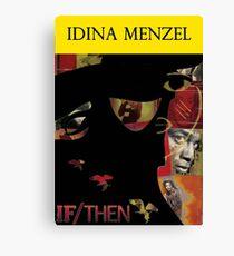 Idina Menzel Broadway Shows Canvas Print