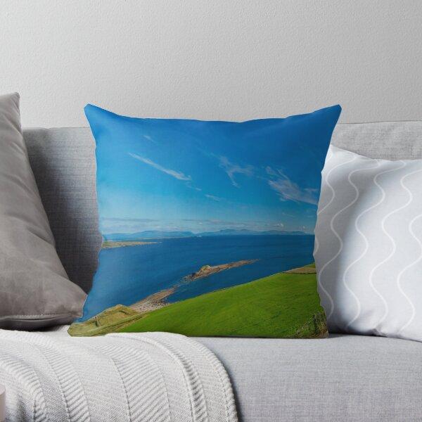 Donegal Bay - Panorama Throw Pillow