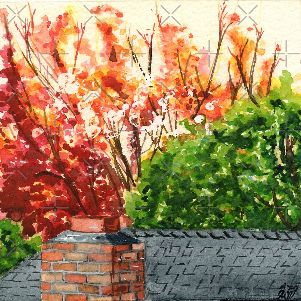 Fall, Off the Balcony by Amy-Elyse Neer