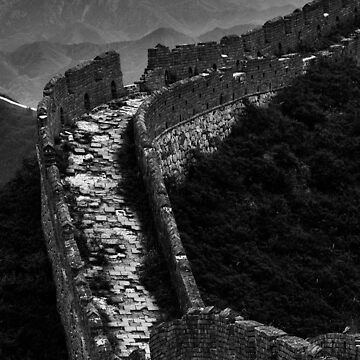 Great Wall of China - Miyun, China by alexzuccarelli