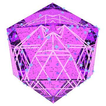 Geometric Gem  by LarryScanlon