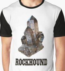 Smoky Quartz Rockhound Graphic T-Shirt