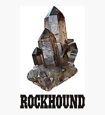 Smoky Quartz Rockhound Photographic Print