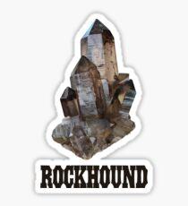 Smoky Quartz Rockhound Sticker