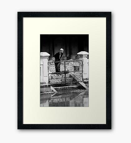 Contemplation - Hanoi, Vietnam Framed Print