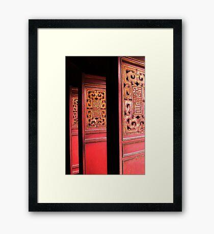 Ngoc Son Temple - Hanoi, Vietnam Framed Print
