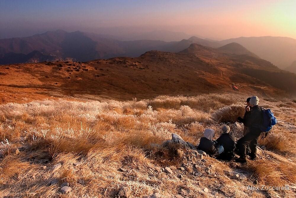 Frozen Dawn - Yeongnam Alps, South Korea by Alex Zuccarelli