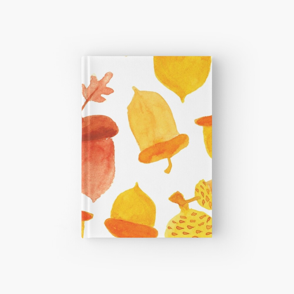 Acorn nuts Hardcover Journal