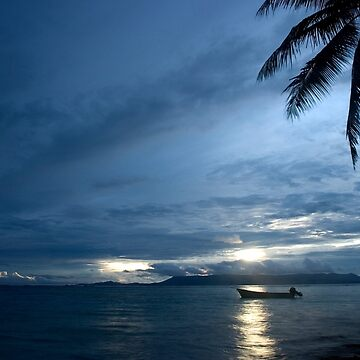 And Atoll Dawn - Pohnpei, Micronesia by alexzuccarelli