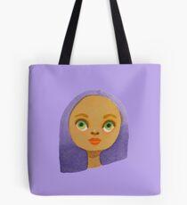 Purple Girl Tote Bag